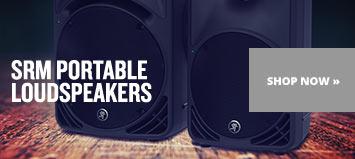 SRM Portable Loudspeakers