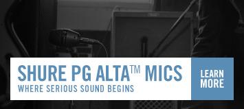 Shure PG Alta Mics