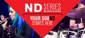 ND Series Microphones