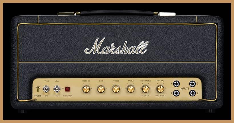 Marshall Studio Vintage Plexi Guitar Amplifier Head