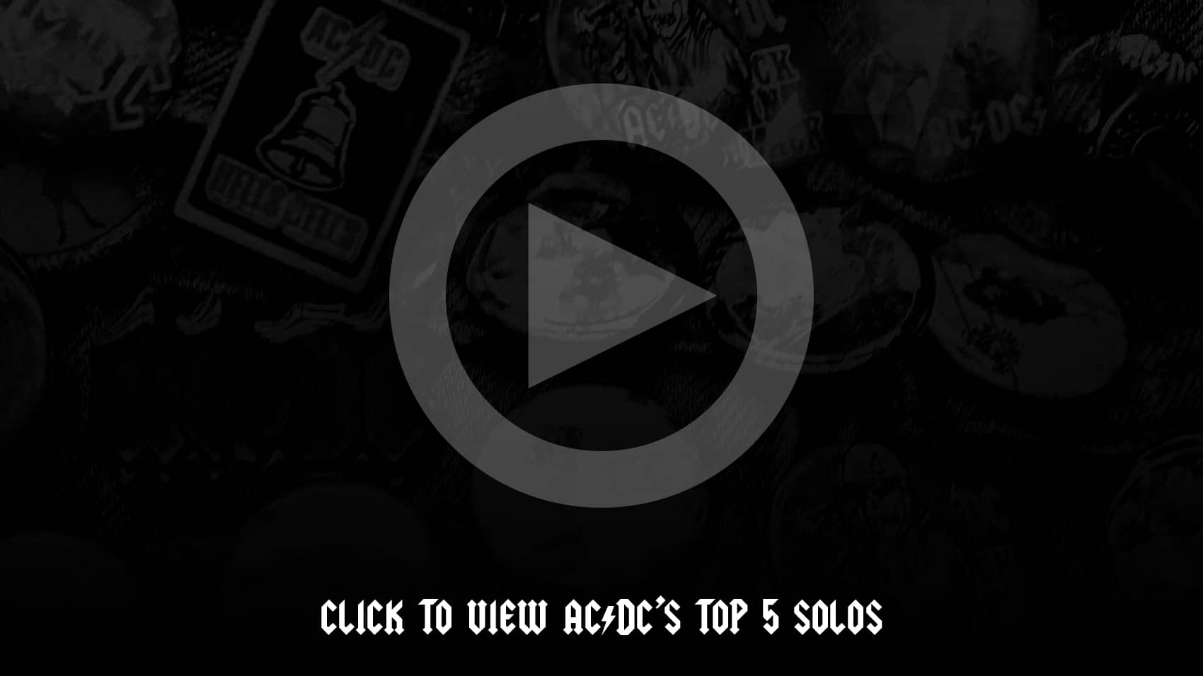 The Top 5 Solos of AC/DC