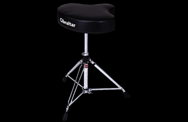 Gibraltar 6608 Motorcycle Top Double-Braced Drum Throne