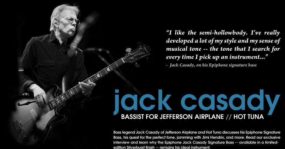 Jack Casady: Exclusive zZounds Interview