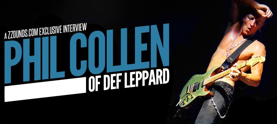 Def Leppard Guitarist Phil Collen: zZounds.com Exclusive Interview
