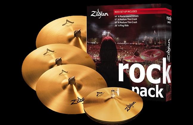 Zildjian A Cymbal Rock Music Pack
