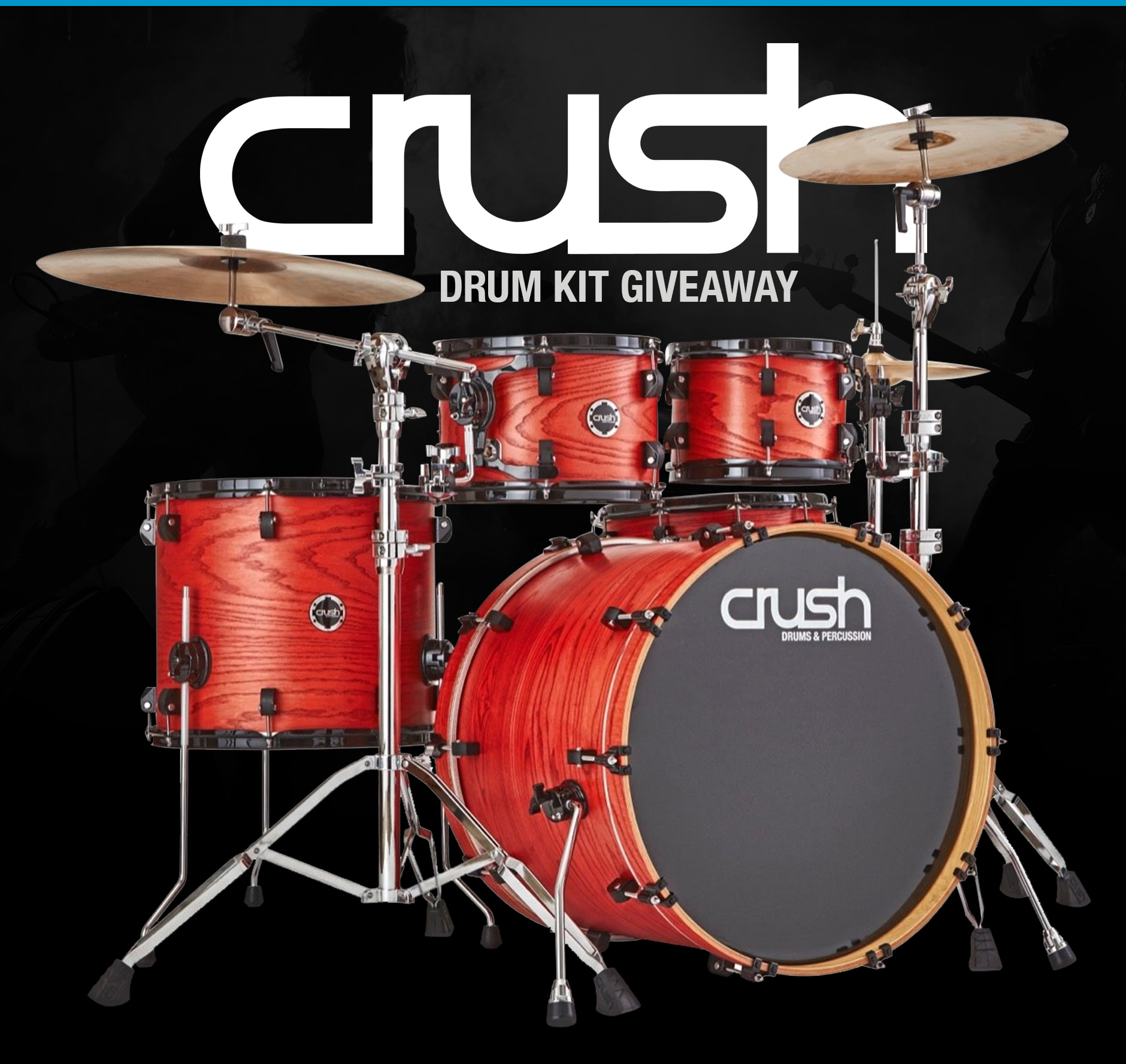 Crush Drum Kit Giveaway