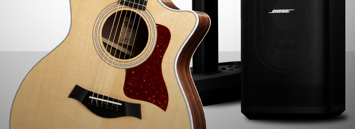 Enter to win a Taylor 414ce-R guitar and a Bose L1 Pro32 PA system!