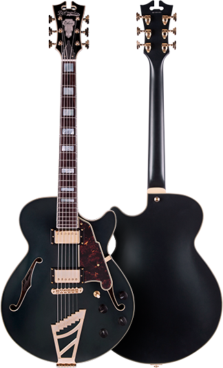 D'Angelico EX-SS Deluxe Semi-Hollowbody Electric Guitar