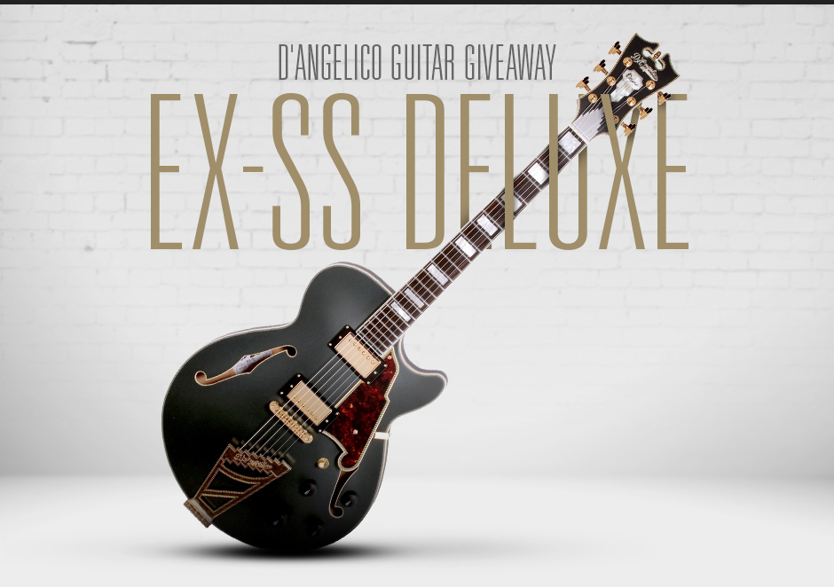D'Angelico Guitar Giveaway: EX-SS Deluxe