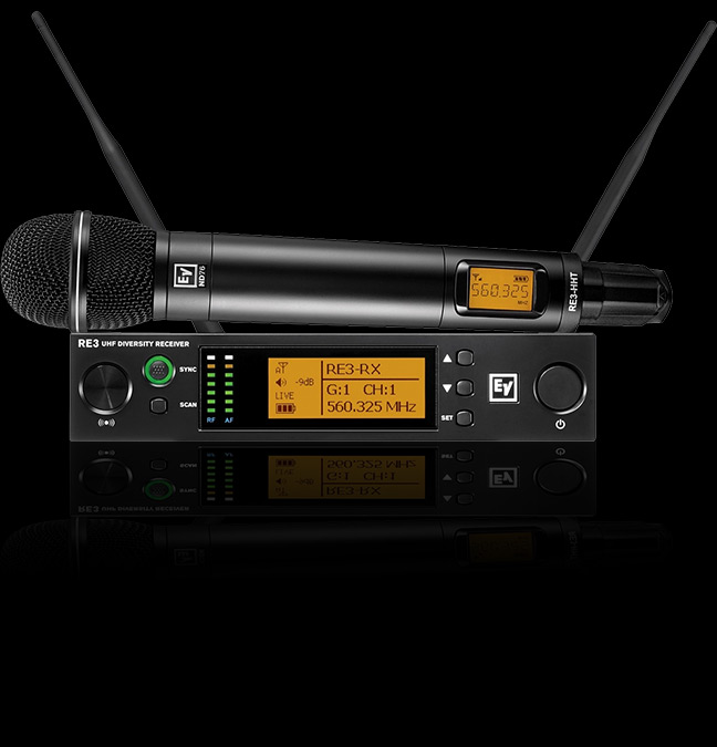 Electro-Voice RE3-ND76 Wireless Vocal Microphone System