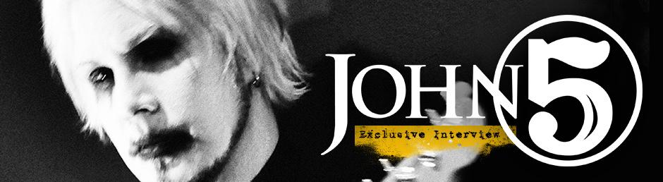 John 5 Exclusive Interview