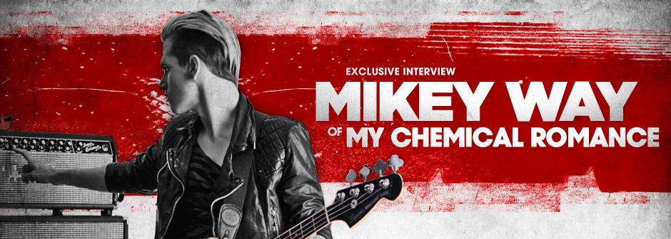 Mikey Way: Exclusive zZounds Interview