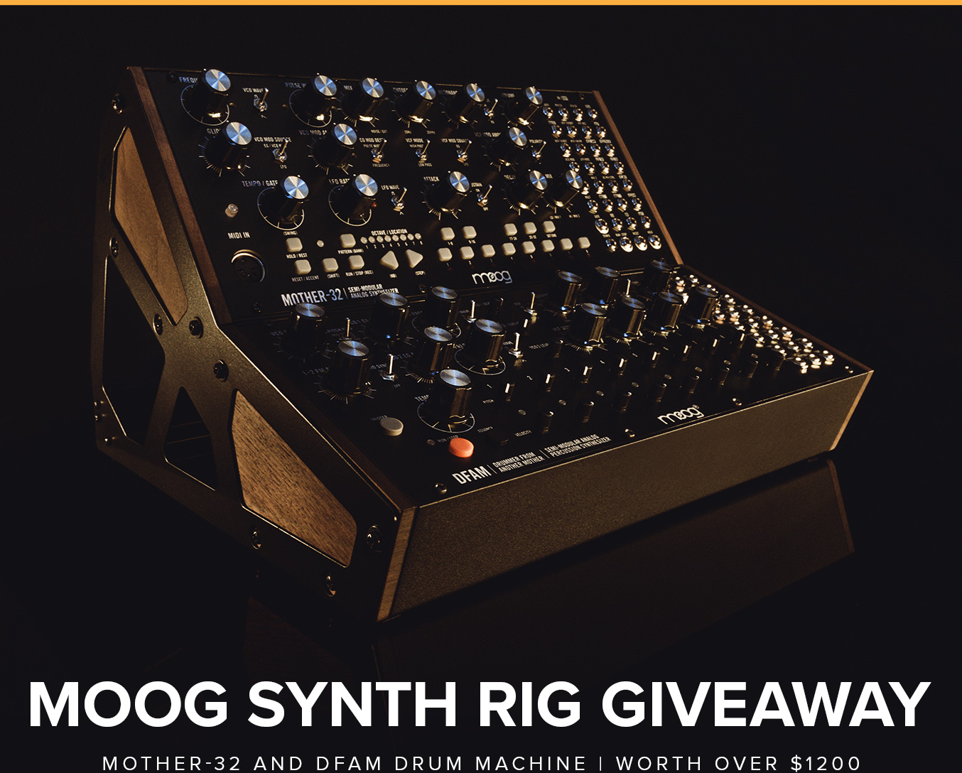 Moog Synth Rig Giveaway