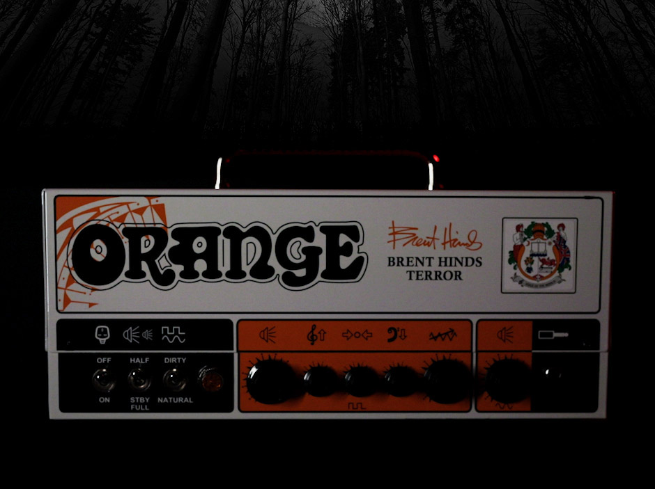 Enter To Win An Autographed Orange Brent Hinds Terror Half-Stack
