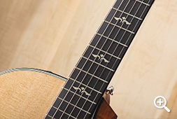 Taylor 600 Series Ebony Fretboard with Ivoroid Inlays