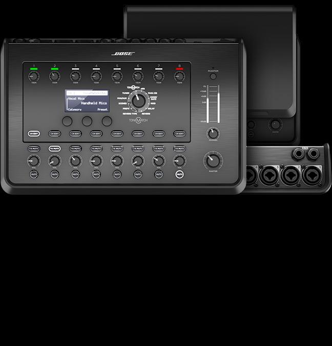 Bose T8S ToneMatch Compact Digital Mixer