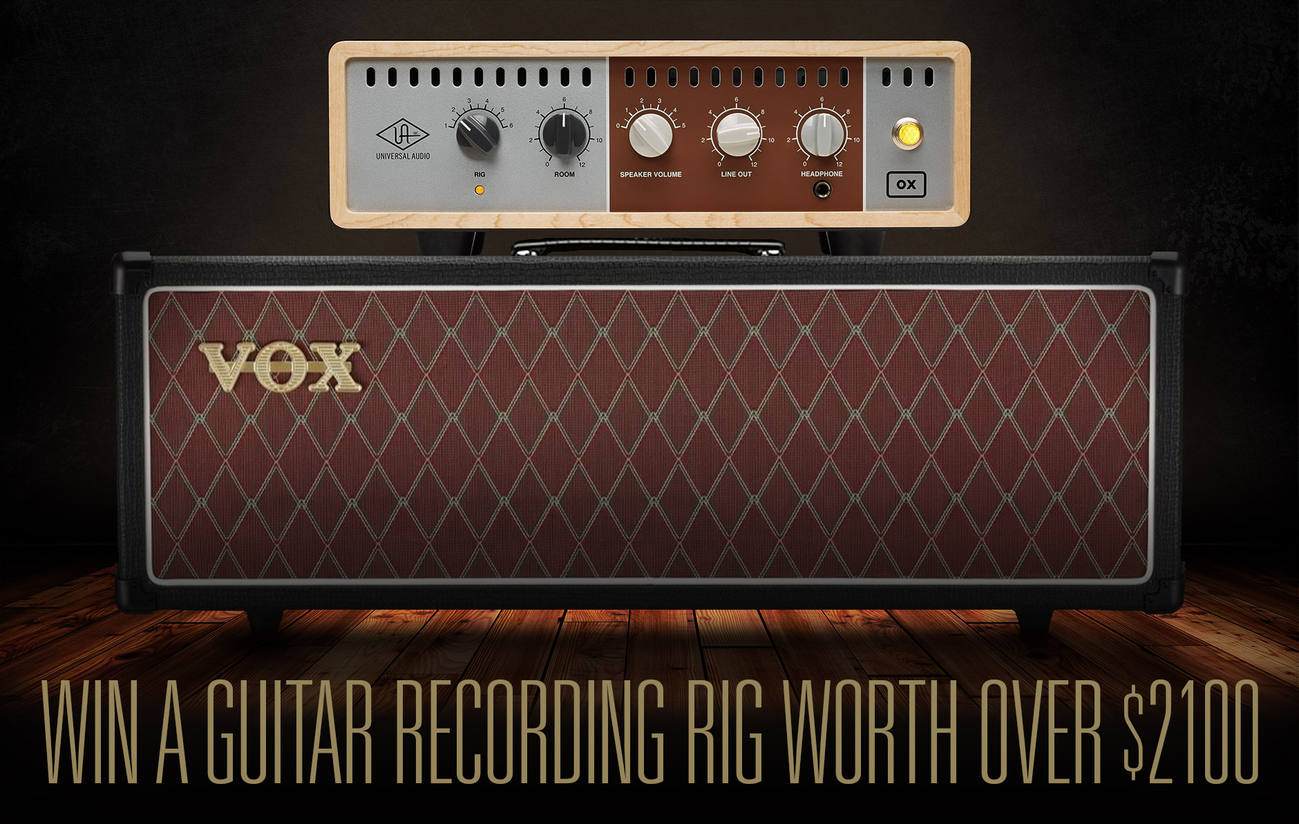 Vox AC30CH Amp Head and Universal Audio OX Load Box Giveaway